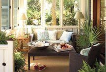 Outdoor Indoor Spaces / by Sabrina Ross