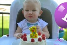 Babies first birthday cake idea