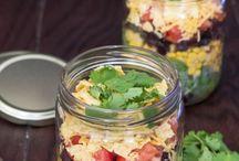 Saladas no pote / Saldas