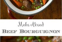 Beef Bourgnione