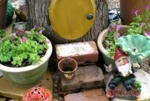 Elfenplatz im Garten