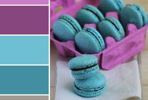 Color scheme macaroons