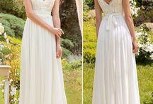 vestido e sapato noiva