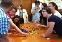 Bucharest Team Building for Gamification  / Sagittarius is a South East Europe project you can see details at http://pinterest.com/seesagittarius. We implemented games for PP6-PP7-PP8 training with Lego was done to understand cooperation across local partners and find game synergies.