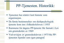 Pedagogisk-psykologisk tjeneste og skolepsykologi