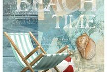 Beach Diva / I love the beach!! Everything has to match from cooler to chair to bathing suit.