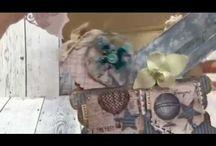 JiwonArts Video / stamp,Card making, scrapbooking,  magnolia card,tilda card,, coloring,Craft video, tutorials
