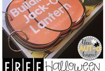 Halloween Themed Special Ed Activities