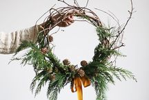 Christmas and wreaths