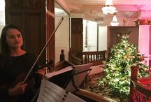 Christmas Party Live Music in London / Liquid Strings provides live musicians for Christmas Parties in and around London