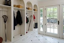 Stairs + Mudroom + Entrance Hall