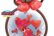 Valentines Day / Balloon Bouquets and T-shirts for Valentines Day.  From huge heart balloons to a dozen red balloons, and t-shirts designs ranging from will you marry me to a simple read heart.
