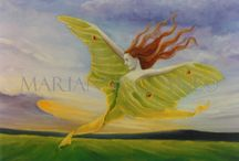 My Oil Paintings and Spiritual Journey / I used to paint in oils, and many of these are part of my spiritual journey.
