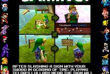 Legend of Zelda / by Robert Misegades