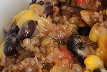 Healthy Potluck Meals / Healthy potluck meals to make and share.