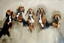 perritos cuadros