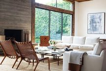 Scandinavian American Country  interiors