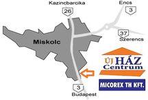 Rólunk / Micorex TH Kft tüzép telep, építőanyag forgalmazás, tüzelőanyag kereskedelem, tetőcserép és térkő bemutató udvar.