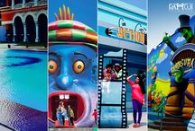 Colours of Ramoji Film City / As Holi is round the corner, here's showing you the colourful beauty of Ramoji Film City.