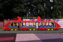 EUROPLAY Transport - Transportation / No dream destination is beyond reach to our children.  Thanks to the wide range of means of transportation, they can make trips to their favourite hideaway!  An absolute must for any playground.