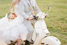 Wedding car/twowheels