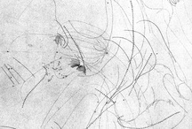 drawings - notations and mappings / diagrams - movement - music - invisible fields - maps