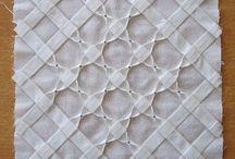origami con tejido