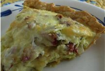 1. RECIPES: Quiches, Fritattas, etc. / by Wendy Epps