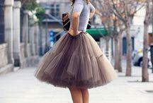 Skirt and dresses <3