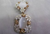 Vintage Jewerly Vintage Moonstone Jewelry / by Vintage House Boutique