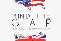 MIND THE GAP SERIES / two friends. one really big ocean. new videos every monday!