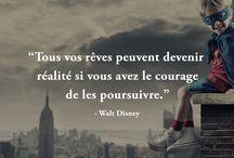 Walt Disney citation