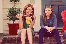 Chloe and Beca