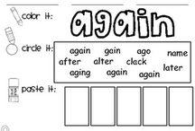 1st grade spelling / by Amber Sapp-Stenberg