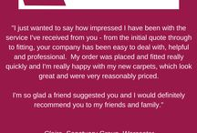 Testimonials / A few highlights from the feedback we've received from our customers!