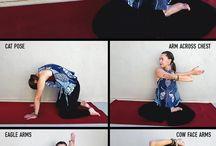 Yoga ile Boyun ve kol germe egzersizleri