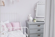 Pink and Gold Girls Room