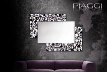 Designer mirrors / Luxury mirrors designed by Piaggi