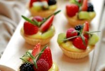 Petit four delicate desserts