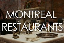 Montreal Restaurants / Montreal restaurants - Here's our selection of some of the best Montreal restaurants in Old Montreal, Downtown Montreal, and elsewhere in Montreal.