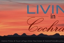 """livingincochrane.com / A local Realtor with Royal LePage Allstar Real Estate, Debbie Leah is selling Cochrane! When you add great people & a great community you find the perfect home! """"Living in Cochrane"""" is her social media brand where she celebrates all things Cochrane & where she markets her current property listings."""