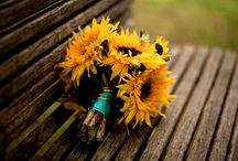 Rustic Sunflower / Sunflower inspiration for wedding stationery