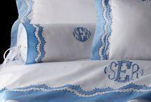 Luxury embroidered Linen