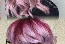 Gefärbte Haare