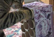 manualidades para gatos