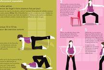 Sport grossesse et après grossesse