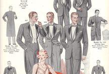 1930s Fashion Men & Women