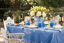 KITCHEN & OUTDOOR DINING & DISHWARE / by Brenda Nally