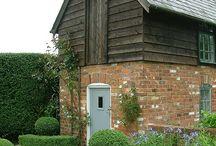 Rustic brick houses