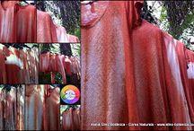 Handmade Shibori natural dyes Leka Oliveira / Natural dyes Handmade Shibori Leka Oliveira
